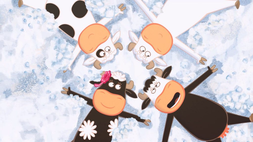 Image film Quatuor à cornes
